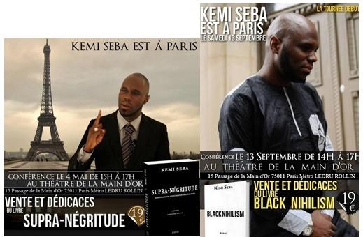 Il n'y a pas que dans le racisme que Kémi Séba est constant, dans le marketing aussi !