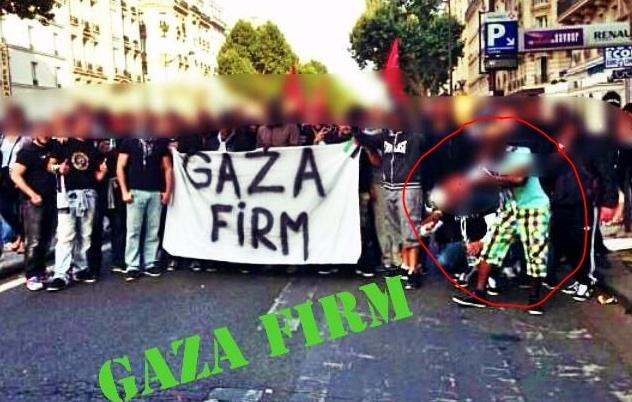 La Gaza Firm et ses quenelliers.