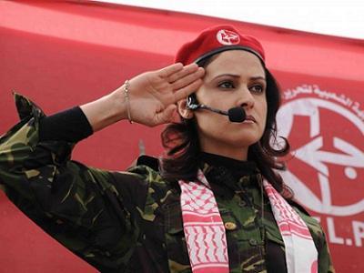 Shireen Said, dirigeante du Front Populaire de Libération de la Palestine (FPLP) à Gaza