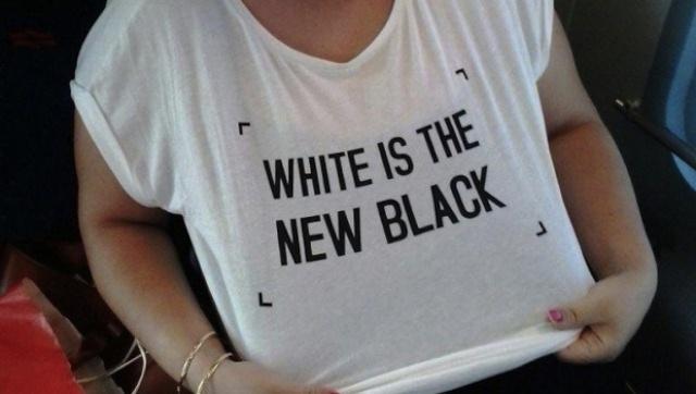 T-Shirt des identitaires ? Non, collection automne-hiver de chez Zara.