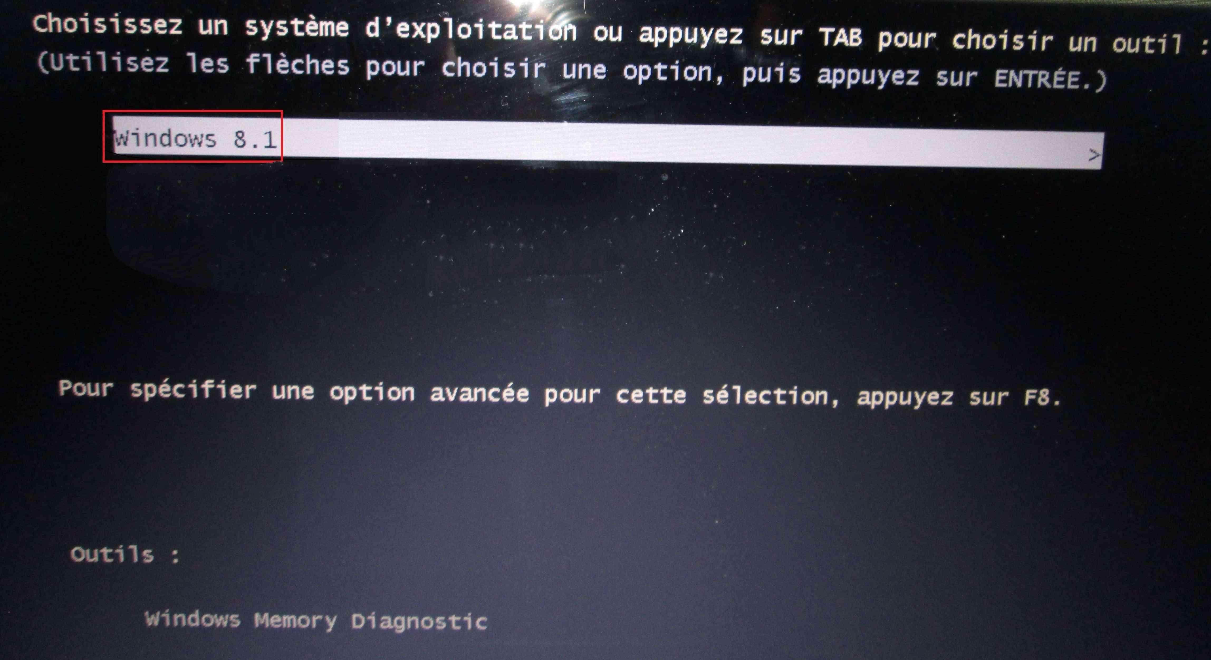 Ycran Ecran Noir Windows 7