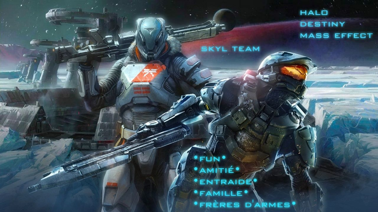 Skyl Team : Halo - Battlefield - ME3 •