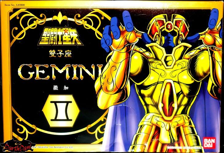 Saint cloth series Gemini Saga