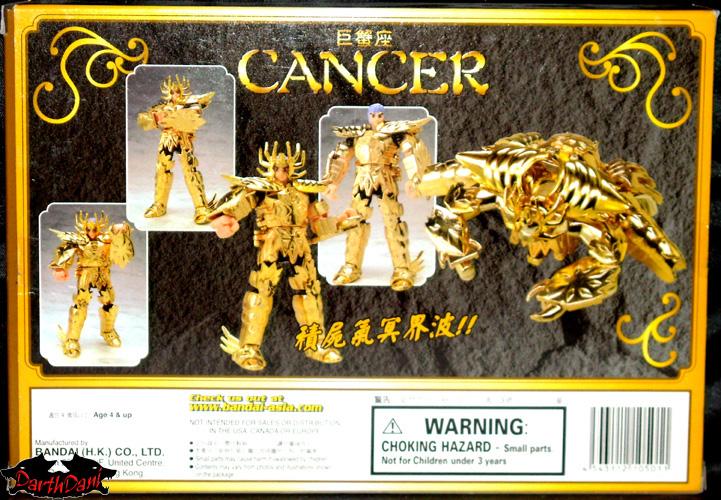 Saint cloth series Deathmask Cancer