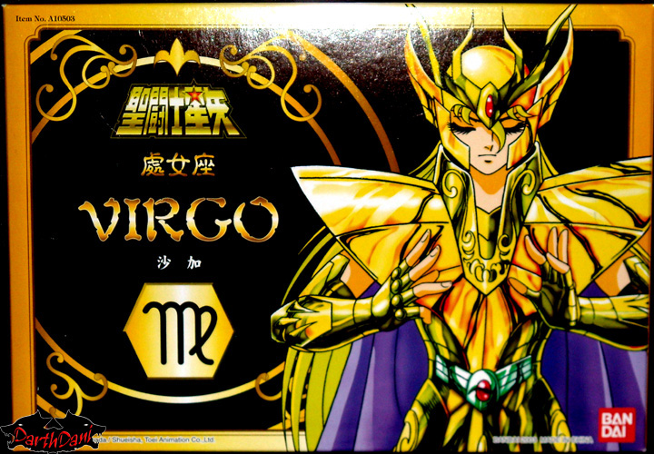 Saint cloth series Virgo Shaka