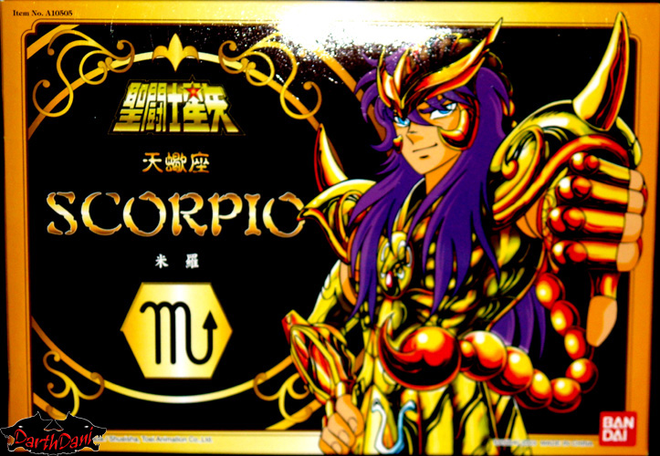 Saint cloth series Scorpio Milo