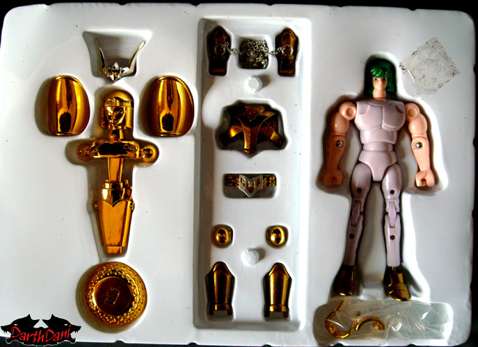 Saint cloth series Andromeda Shun V2 Gold