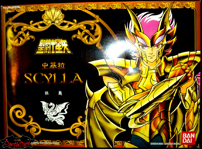 Saint cloth series Scylla IO
