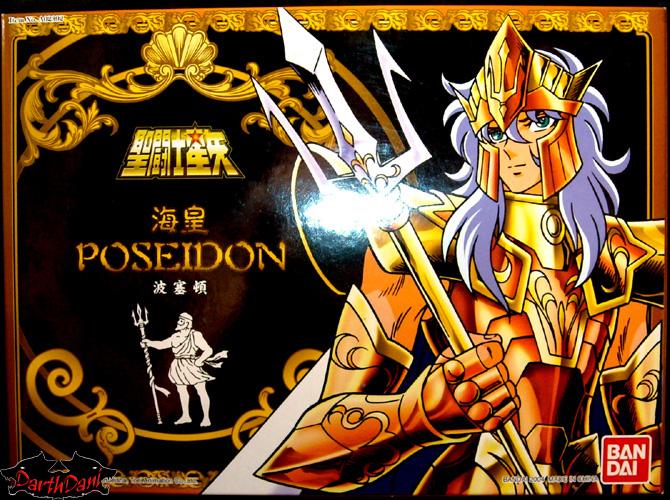 Saint cloth series Julian Solo Poseidon