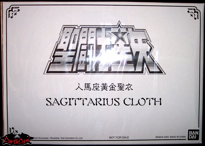 saint cloth series Sagittarius Galaxian War