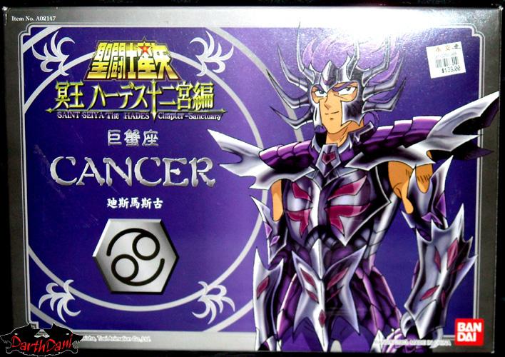 Saint cloth series Deathmask Cancer Gold Surplice