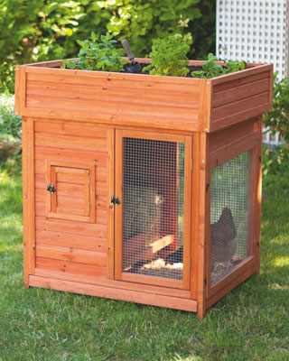Pr sentation du poulailler d 39 esobook - Fabriquer une niche pour chat en bois ...
