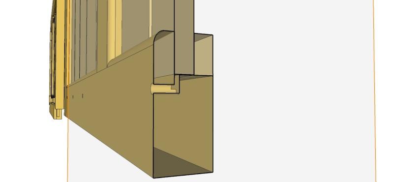atelier Fabrication d'un volet bois pour l'atelier # Fabrication Volet Bois