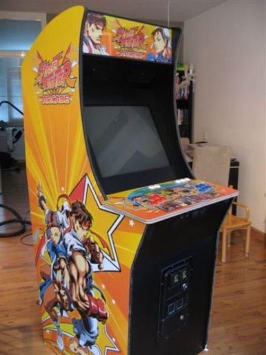 Plans pour borne d 39 arcade - Borne d arcade maison ...