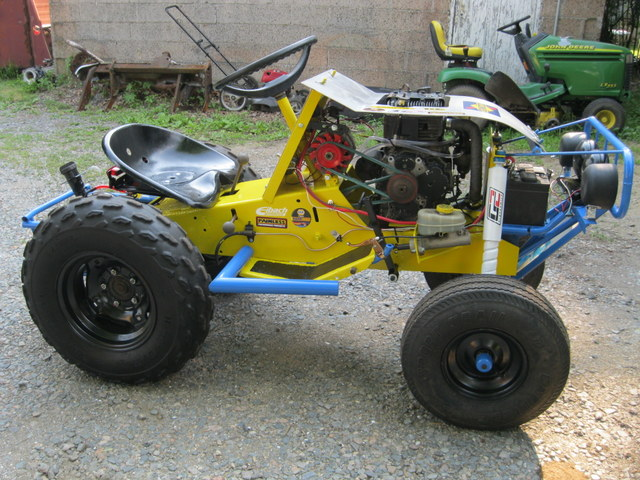 Murray Racing Mower : Vote for the winner here