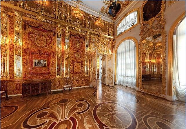 Le myst re de la chambre d ambre du palais de tsarsko selo - La chambre d ambre photos ...