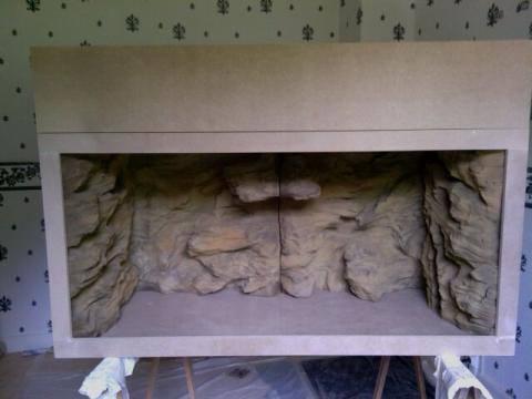 A vendre construction d 39 un terrarium son meuble en mdf po - Construire un meuble en mdf ...