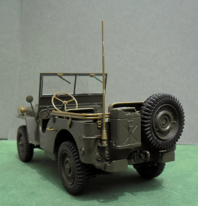 Decoration Cuisine Verriere : Jeep Willys Short Stop Italeri 124 (finie)  Page 3