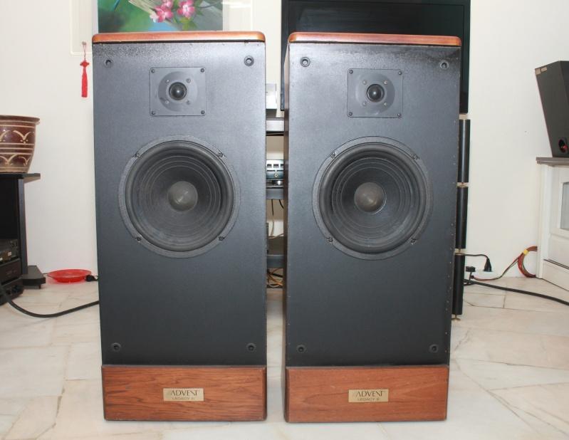 advent legacy iii floorstanding speakers used sold