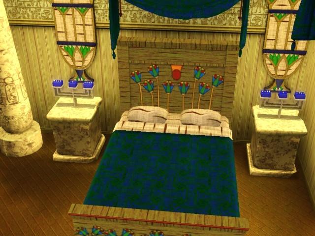 déco chambre egyptienne