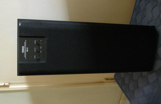 yamaha subwoofer yst sw120 used sold. Black Bedroom Furniture Sets. Home Design Ideas