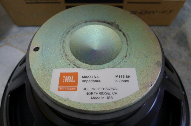 Jbl Professional M115 8a 15 Quot Drivers Used Sold