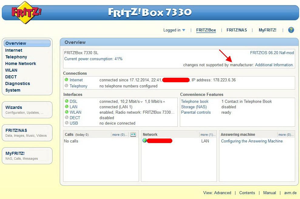 Fritz 7330 sl nuovo arrivo cosa fare pagina 3 - 7330 sl ...