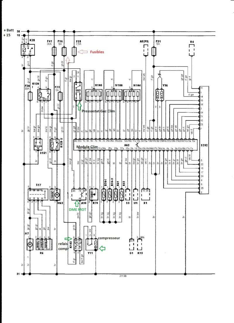 bmw e36 m3 3 0l an 1993   climatisation activ u00e9e en