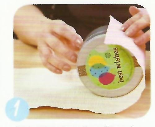 Emballage d 39 un cadeau rond - Comment emballer un cadeau rond ...