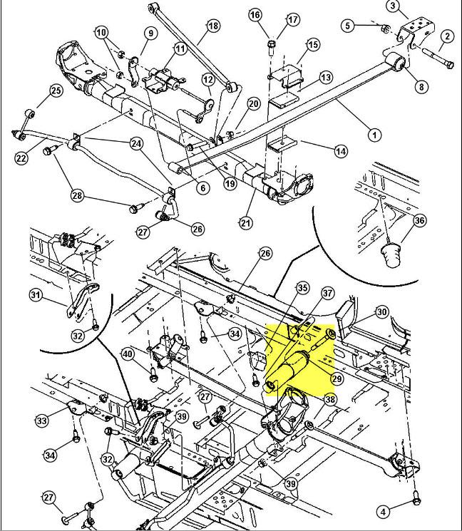 recherche sch u00e9ma suspension arri u00e8re du dodge caravan 2002