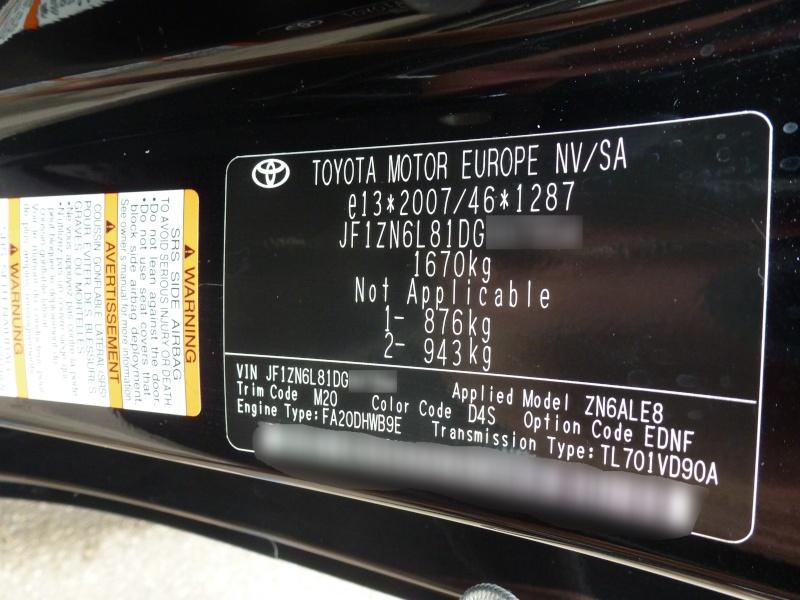 TSB Vin Number - Scion FR-S Forum | Subaru BRZ Forum