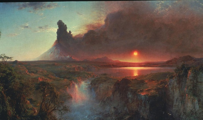 Frederic Edwin Church [1826-1900]