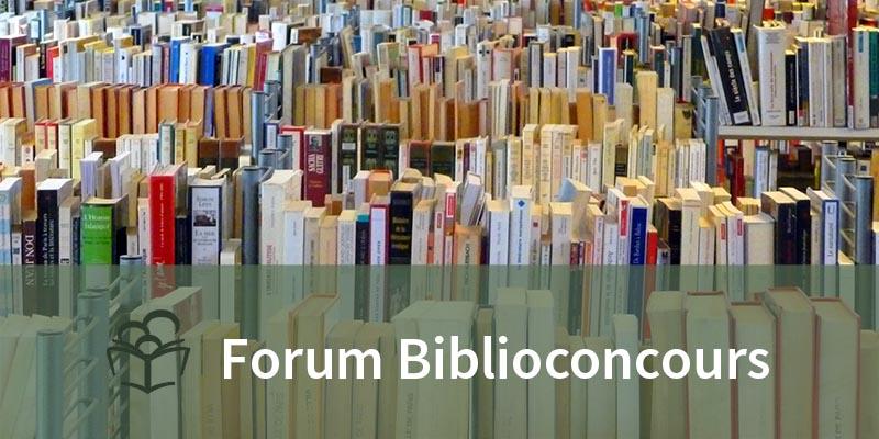 FORUM BIBLIOCONCOURS