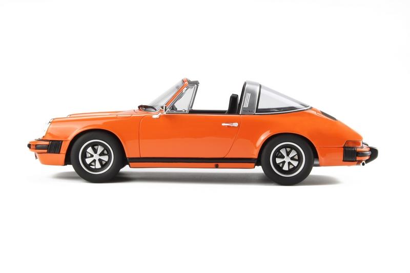 gt spirit 1974 porsche 911 carrera 2 7 targa orange le of 911 1 18 last one ebay. Black Bedroom Furniture Sets. Home Design Ideas