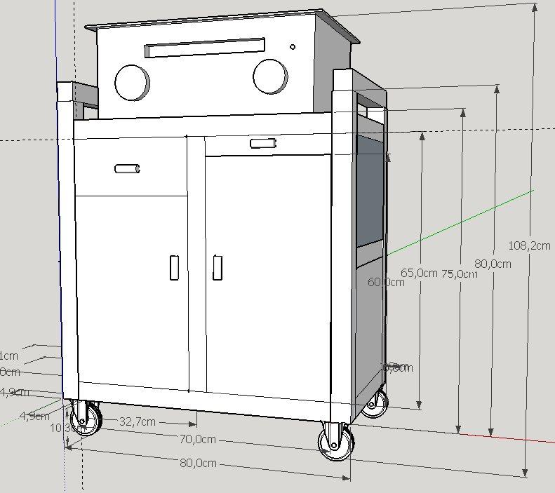 Interesting cijoint mon projet dsl je ne maitrise pas - Fabriquer un chariot pour plancha ...