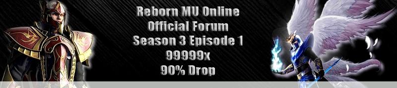 Reborn MU S3    Forum