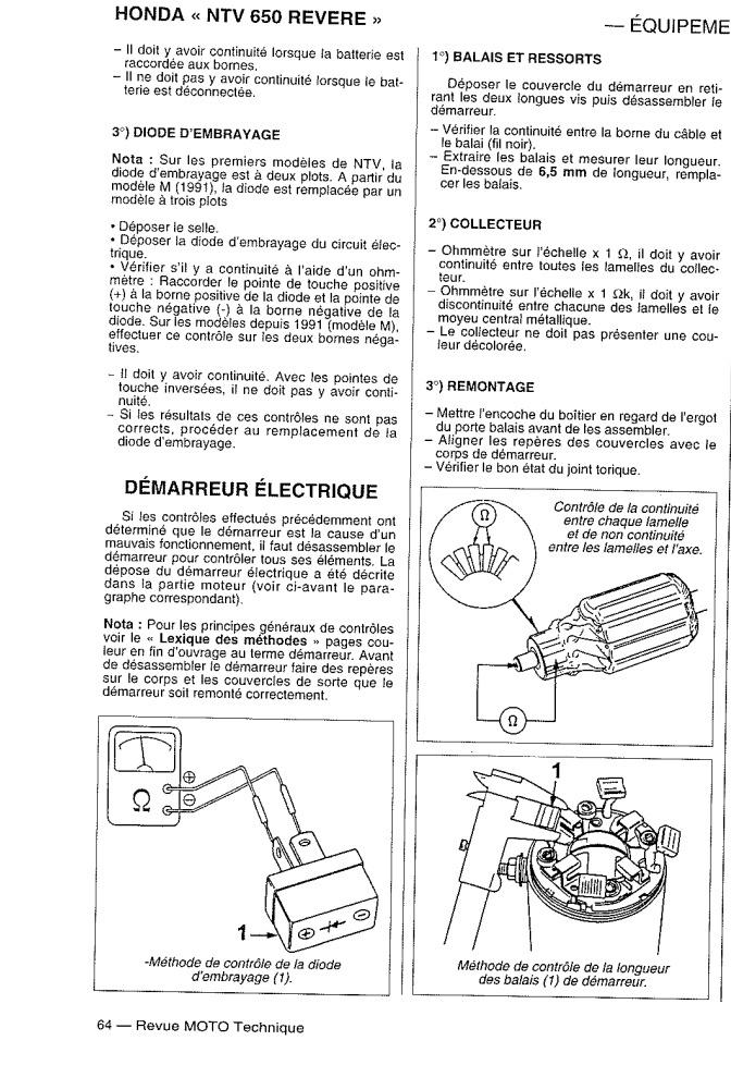 Shadown 1100 de 1996 p cool coupure nette contact et fusible hs page 2 - Comment savoir si un fusible est grille ...