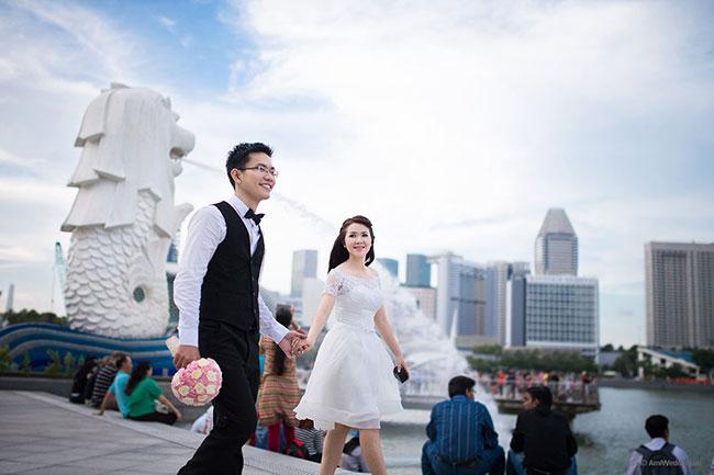 Địa điểm chụp hình cưới nước ngoài lý tưởng