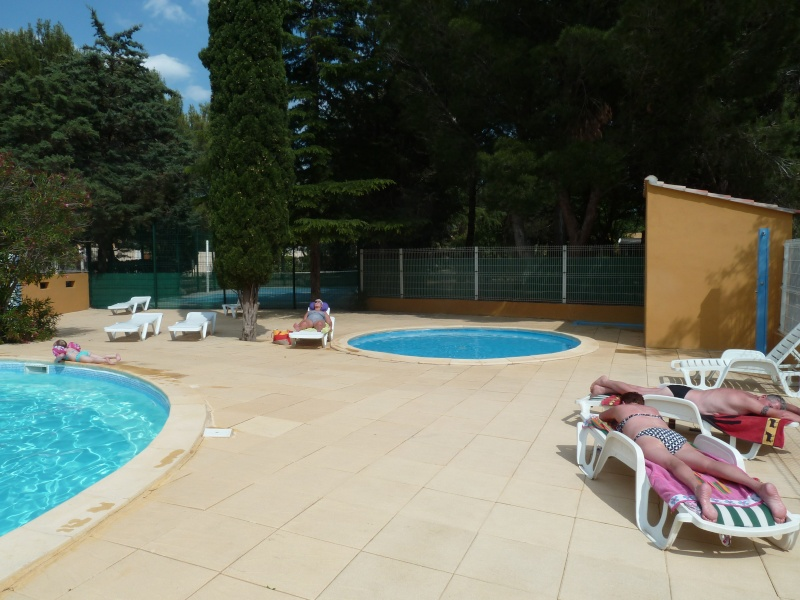 Camping sites et paysages le mas du padre balaruc les bains for Camping chamonix piscine