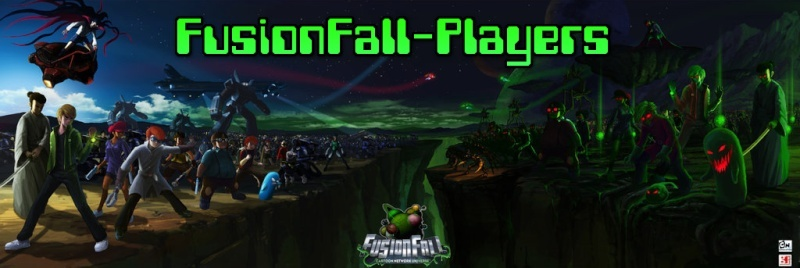 FusionFall-Players