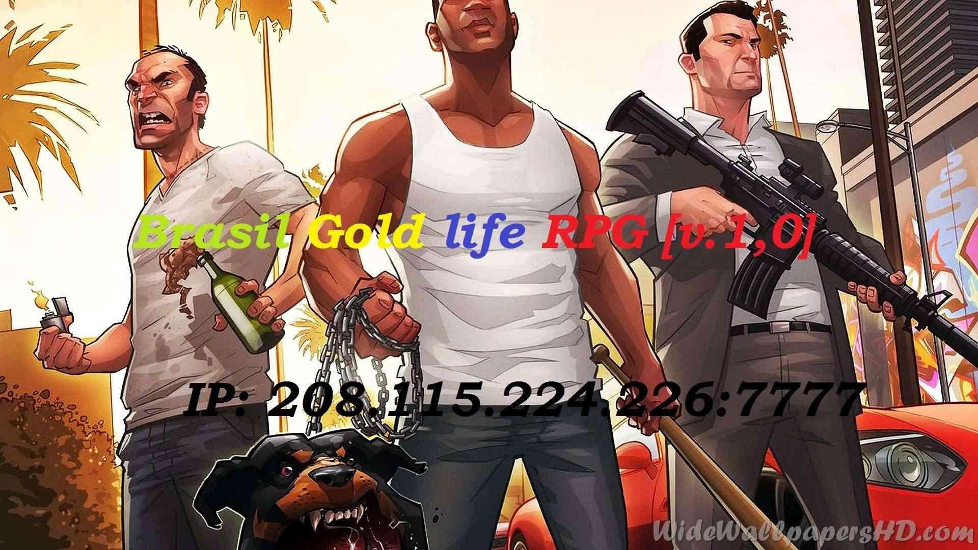 Brasil Gold Life RPG V.1,0