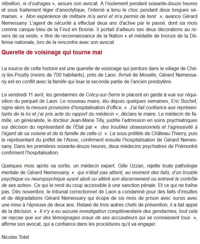 Affaire prémontré Aisne - psychiatrie - Neptune
