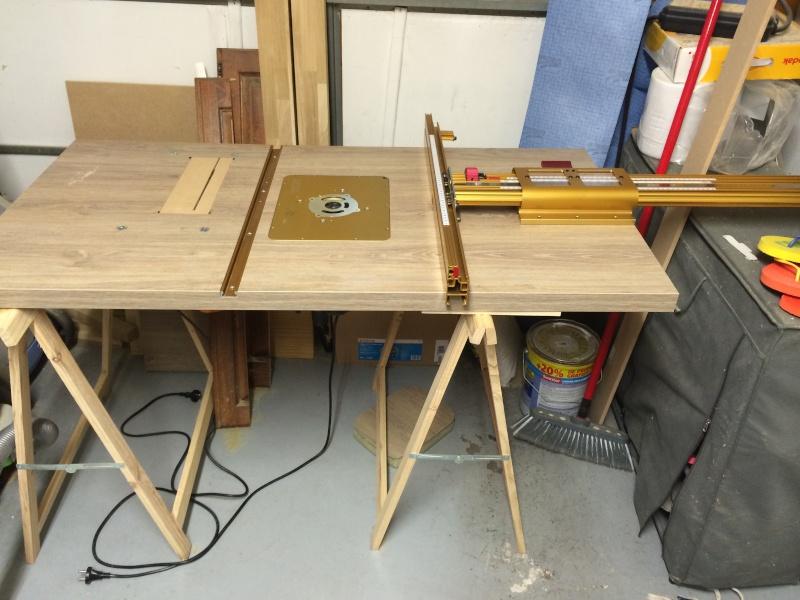 Rallonge De Table De Combinee Une Table Polyvalente D Fonceuse Scie Sous Table