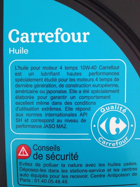 huile moteur carrefour 5w30 beautiful jutilise du nettoyant freins chez carrefour pour nettoyer. Black Bedroom Furniture Sets. Home Design Ideas