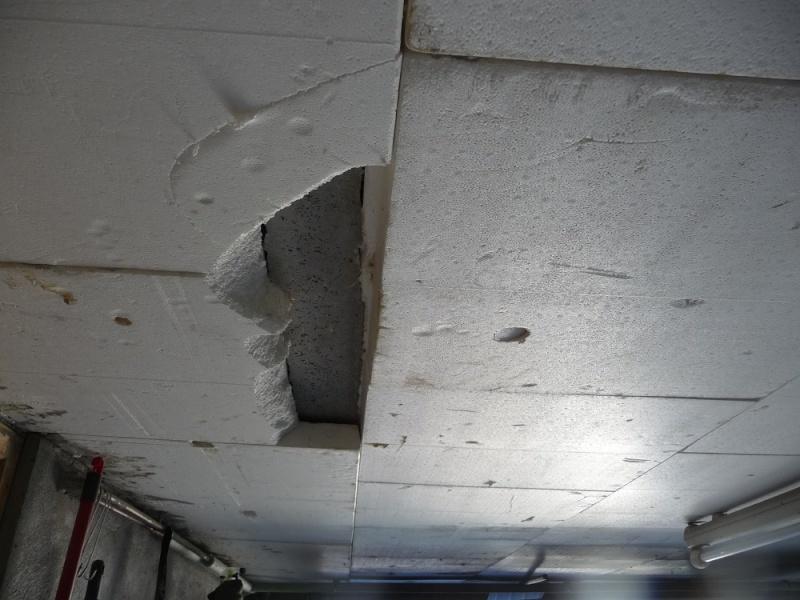 Atelier d 39 ellogo67 - Isoler plafond garage polystyrene ...