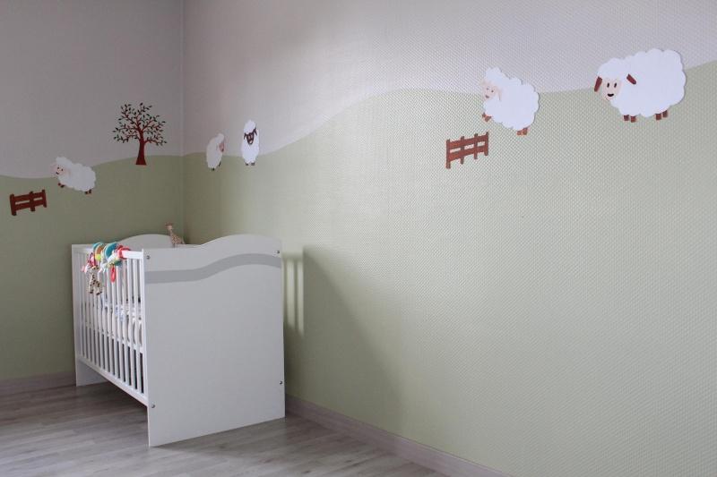 Peinture mur inspiration chambre bebe for Chambre bebe peinture murale