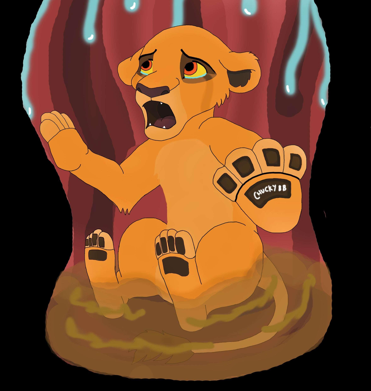 Lion vore softcore image