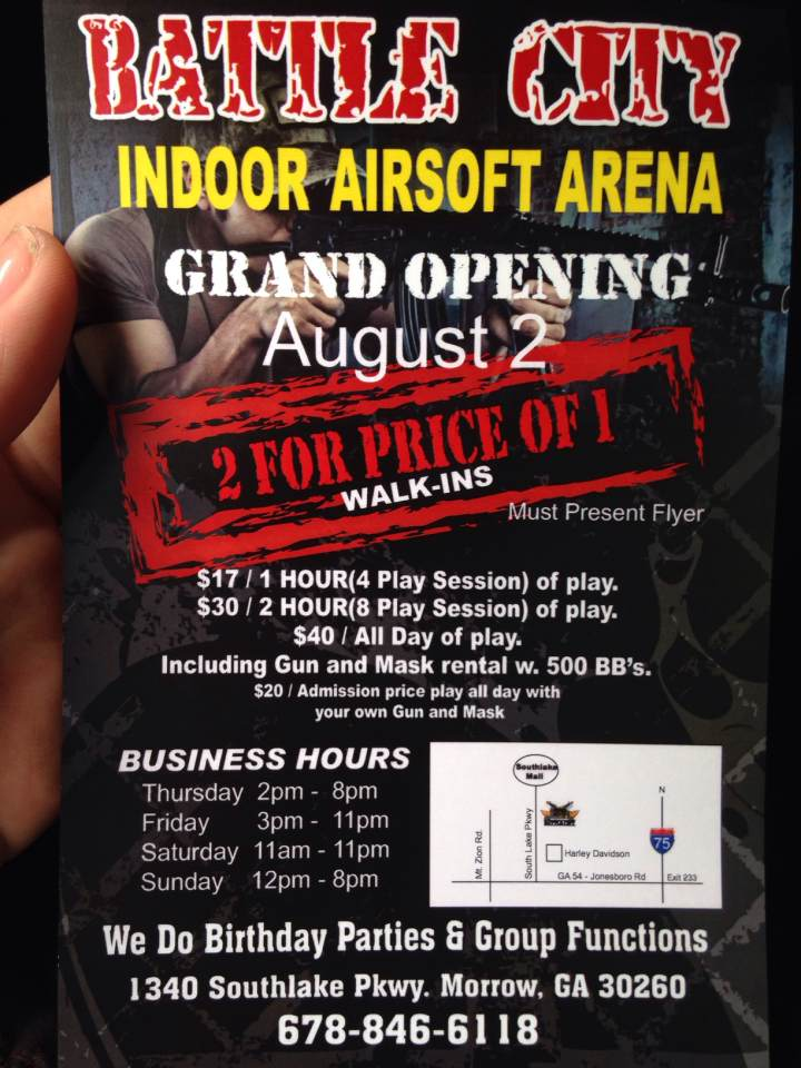 Support our new local airsoft arena!!!