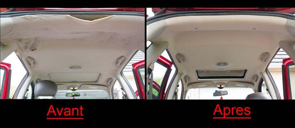 comment recoller le plafond d une voiture voitures. Black Bedroom Furniture Sets. Home Design Ideas