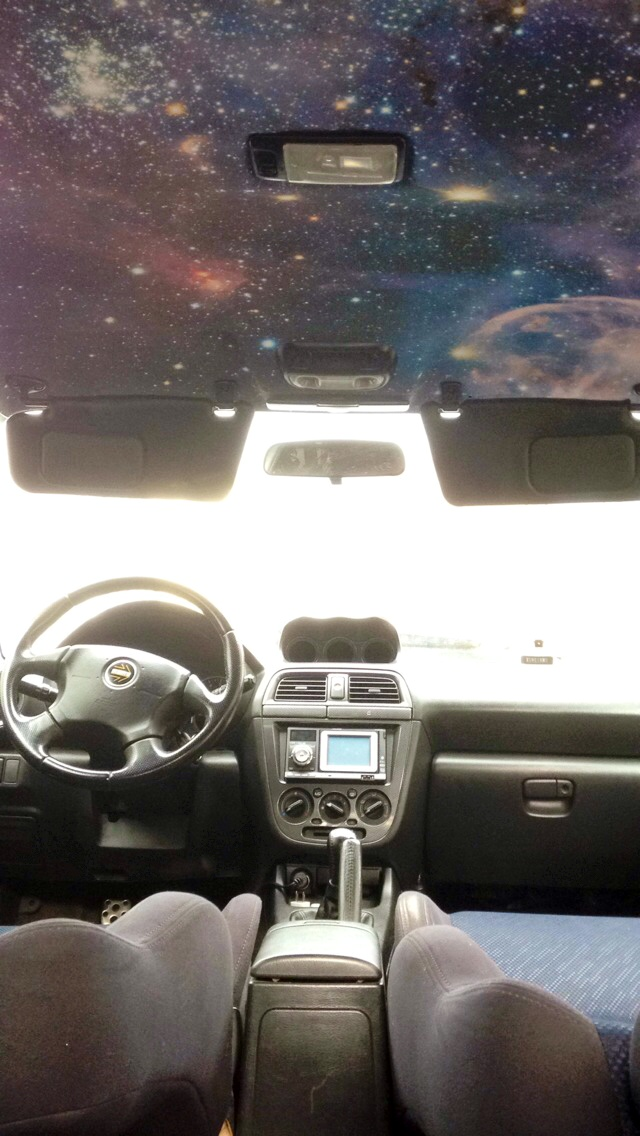 Show us your unique custom modifications part 2 page for Galaxy headliner material